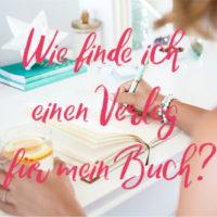 Verlag für Buch finden